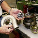 Турбина выходит из строя: Утечка выхлопных газов (трещина в улитке)